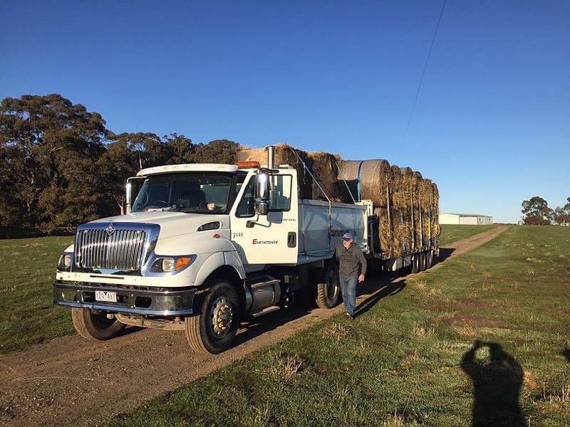 greg paull diamond creek rotary hay project